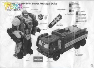 Transformers News: Transformers: Age of Extinction Power Attackers Figures Revealed