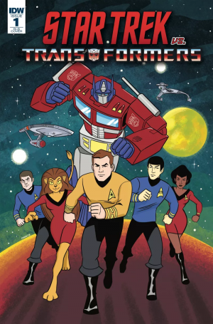 Transformers News: IDW Star Trek Vs. Transformers Crossover Series Announced