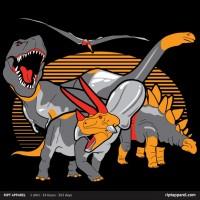"""New RIPT Apparel """"Land Before Prime"""" Dinobot inspired T-Shirt"""