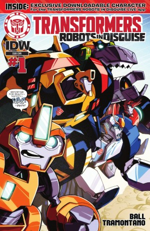 Transformers News: IDW Transformers: Robots in Disguise #1 Review