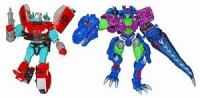 "Transformers News: BotCon 2010 ""G2 Redux"" Rapido and Cindersaur now shipping from Club Store"