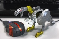 Transformers News: Images of Takara Transformers Device Label - Tigatron, Grimlock