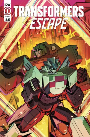 IDW Announce New Transformers: Escape Miniseries