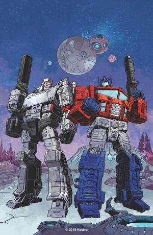 Transformers News: First Images Of IDW Transformers Reboot - Set To Arrive Spring 2019