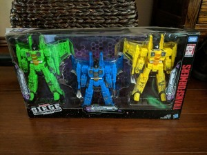 Transformers News: Transformers War for Cybertron Siege Ion Storm Nova Storm Acid Storm Three Pack Found on Ebay