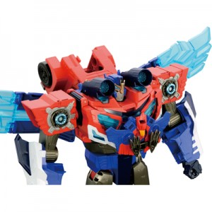 Transformers News: Stock Images - Takara Tomy Transformers Adventure TAV50 Power Surge Optimus