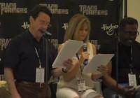 Transformers News: BotCon 2011: Transformers Prime Script Reading Video