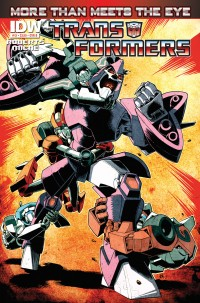 Transformers News: Seibertron.com Reviews IDW Transformers: More Than Meets The Eye Ongoing #13