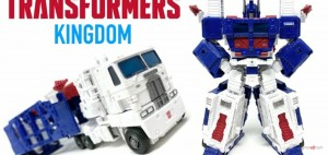 New Video Review of Transformers Kingdom Leader Class Earth Mode Ultra Magnus