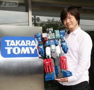 Transformers News: Transformers Titans Return Fortress Maximus - Shogo Hasui Interview