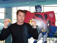 Transformers News: David Kaye - Not in Transformers: Prime