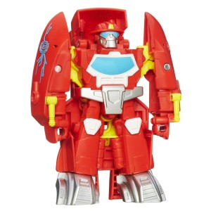 Transformers News: Playskool Heroes Transformers Rescue Bots Optimus Prime and Heatwave