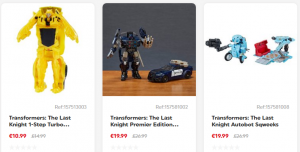 Transformers News: Steal of a Deal: Up To 25% Off On Select TLK Figures At Smyth's Toys