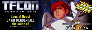 Transformers News: Transformers voice actor David Mendenhall to attend TFcon Toronto 2018