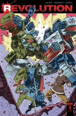 IDW Revolution Issue #1 Preview