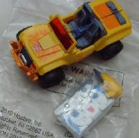 Rumor: Yellow Hound & White Ravage - BotCon 2010 side figure?