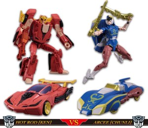 Pre-Order Listings for Takara Tomy Mall Transformers X Street Fighter II Sets