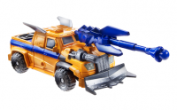 Transformers News: Official Images: Transformers Prime Beast Hunters Cyberverse Commanders Huffer and Optimus Prime