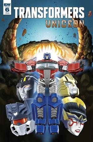 Transformers News: EJ Su Cover for IDW Transformers: Unicron #6 Revealed