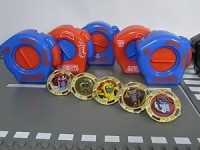 Toy Images of Takara Transformers Animated Battle Wheel