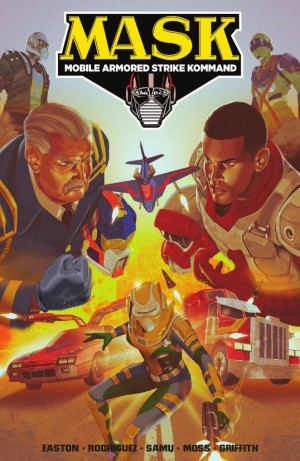 Transformers News: IDW Hasbro Universe - M.A.S.K.: Mobile Armored Strike Kommand, Vol. 2: Rise of V.E.N.O.M. TPB