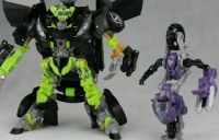 New Images of DOTM Human Alliance Bumblebee and Skids / Elita-1