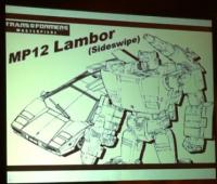 Masterpiece MP12's Identity Revealed... Sideswipe!