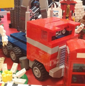 Unofficial LEGO Transformers Models at Legoland Discovery Center Kansas City