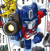 Transformers News: Takara Tomy Kre-O Web Comic Pages
