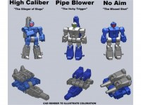 "Transformers News: More MasterShooter Collectibles ""Shoot Masters"" Listed on BBTS"