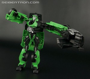 Transformers News: Video Review - Transformers: Age of Extinction Power Attack Power Punch Crosshairs
