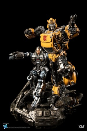 Transformers News: XM Studios Reveals Badass Statue of Bumblebee and Spike