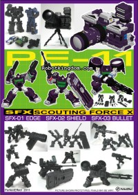 Pre-orders open for PE-11 SFX SCOUTING FORCE X @ RobotKingdom.com