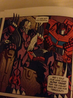 First look at the 2014 BotCon comic images