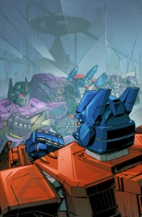 Transformers News: Transformers Timelines Issue #7: Invasion Diamond Edition Cover Revealed