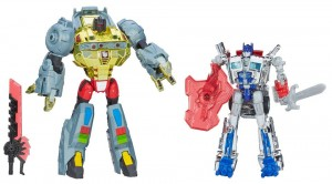 Transformers News: Age of Extinction Target Exclusive Grimlock and Sliver Knight Optimus Prime In-Stoc