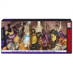 Transformers News: G1 reissue Platinum Insecticons available for pre-order at Toysrus.ca