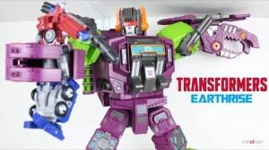 New Video Review of Transformers Earthrise Titan Class Scorponok