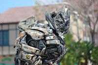 Transformers News: Transformers: The Ride 3D Universal Orlando - Megatron Video and Images