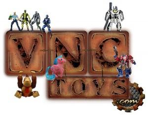VNCToys April News Masterpiece, FanProject, DX9, BadCube, Ghostbusters, Link, Joe, My Little Pony