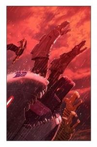 Transformers News: Transformers: Monstrosity #7 Cover Art Revealed