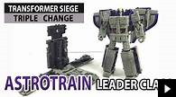 Video Review for Transformers War for Cybertron Seige Leader Class Astrotrain