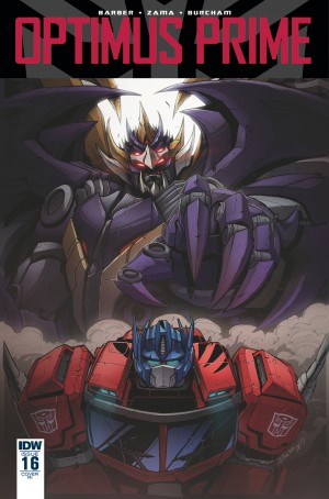 Transformers News: Variant Cover for IDW Transformers: Optimus Prime #16 by Marcelo Matere