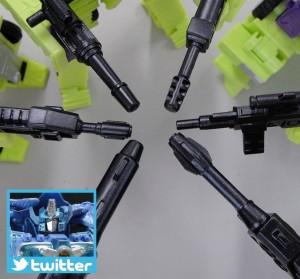 Transformers News: TakaraTomy Transformers Unite Warriors: Constructicons have Guns