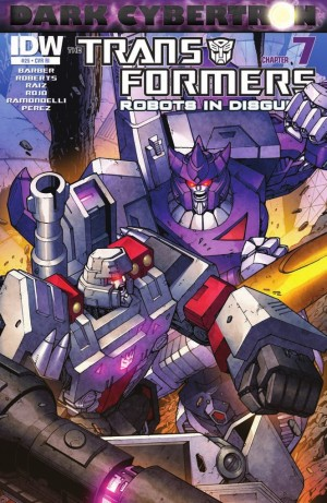 Transformers News: IDW Transformers: Robots in Disguise #25 (DC7) Review