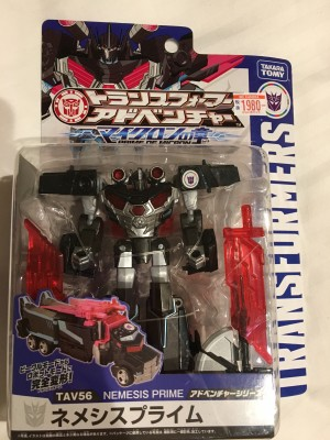 In-Hand - Takara Tomy Transformers Adventure TAV56 Nemesis Prime