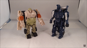 Transformers News: Video Review of Transformers: The Last Knight Turbo Changer Hound & Barricade