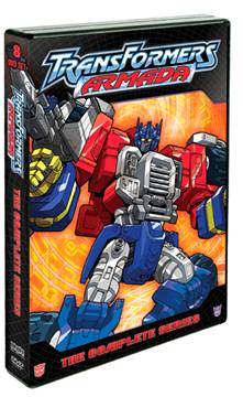 Transformers News: Transformers Armada The Complete Series 8-DVD set debuts M