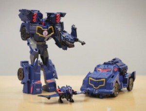 New Clip of Transformers Robots in Disguise Soundwave