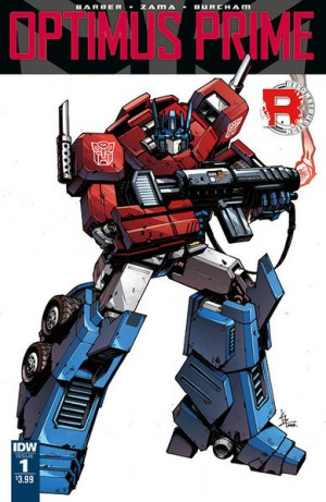 Comic Book Resources interview with John Barber on IDW Optimus Prime Ongoing